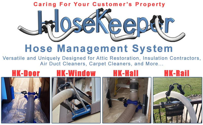 Hosekeeper hose management system at Viking Product Supply