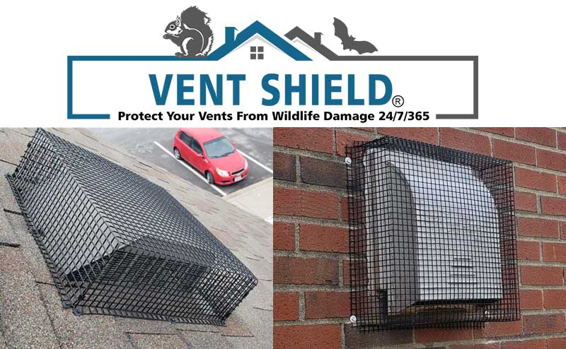 The Vent Shield made and distributed by Viking Product Supply