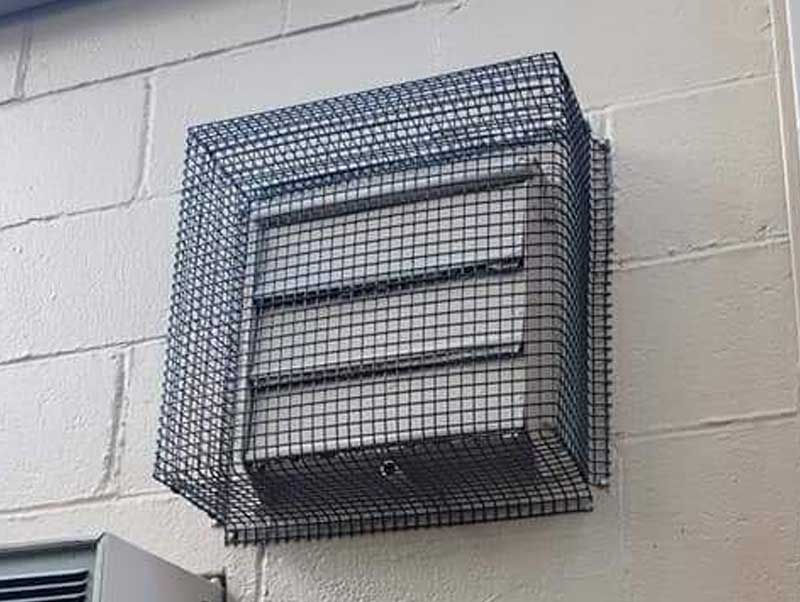 The Vent Shield keeps critters out of your vents.