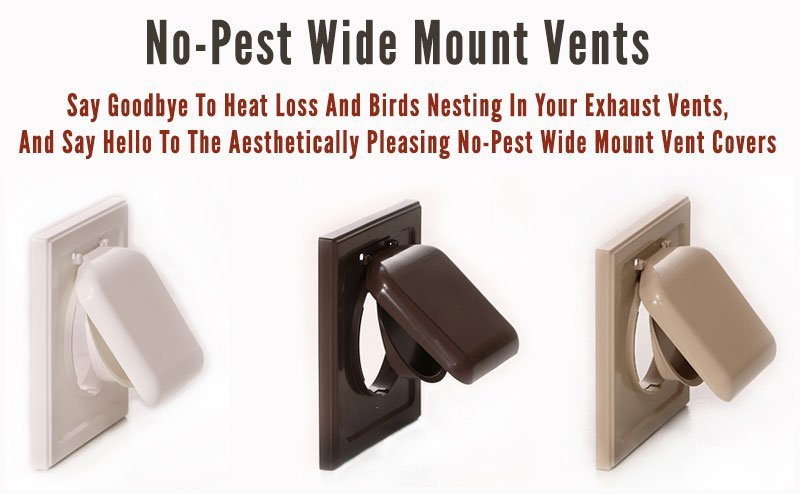 Viking product supply sells No_pest Wide Mount Vents