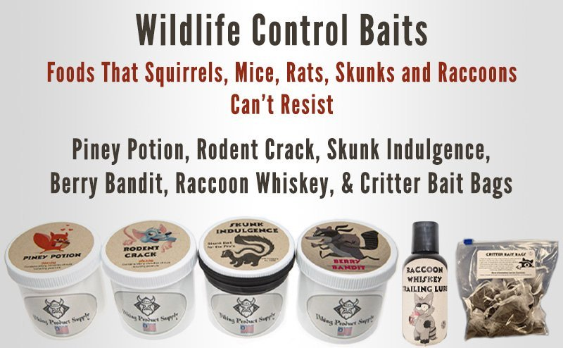 Viking product supply makes great wildlife control baits