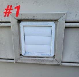 Step 1 Of DryerWallVent Install