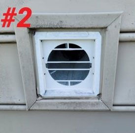Step 2 Of DryerWallVent Install